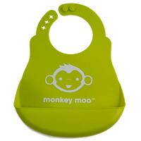 Monkey_Moo Silicone Bib